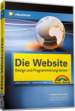 Die Website DVD