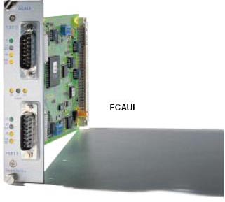Einschubmodul ECAUI ETHERNET-AUI-Interface-Karte