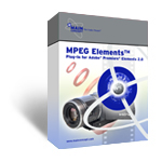 MPEG Elements (Plug-In for Adobe� Premiere� Elements)